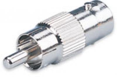 Adapter von BNC-Buchse zu Cinch-Stecker