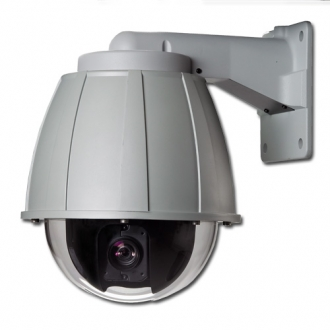 Professional Wired Internal/External Pan/Tilt, Day/Night Speed Dome Camera & Video Server package