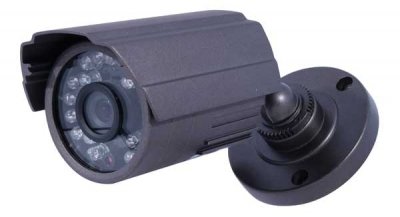 Sony® 480 TVL CCD, Colour Bullet Camera with 10 Metres IR Nightvi