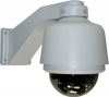 Professional Wired External Pan/Tilt, 50m IR Day/Night Speed Dome Camera & Video Server package